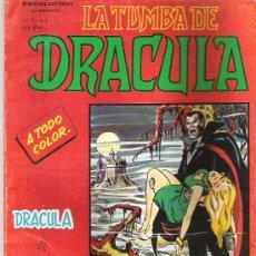 Comics : LA TUMBA DE DRACULA - VOL 2 Nº1 EDICIONES VERICE 1981. Lote 19107678
