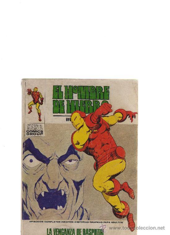 EL HOMBRE DE HIERRO IRON MAN; 29 LA VENGANZA DE RASPUTÍN - CJ24 (Tebeos y Comics - Vértice - Hombre de Hierro)