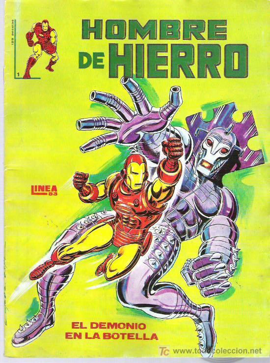 EL HOMBRE DE HIERRO - LINEA 83 - NUM 1 EDICIONES SURCO 1983 (Tebeos y Comics - Vértice - Hombre de Hierro)