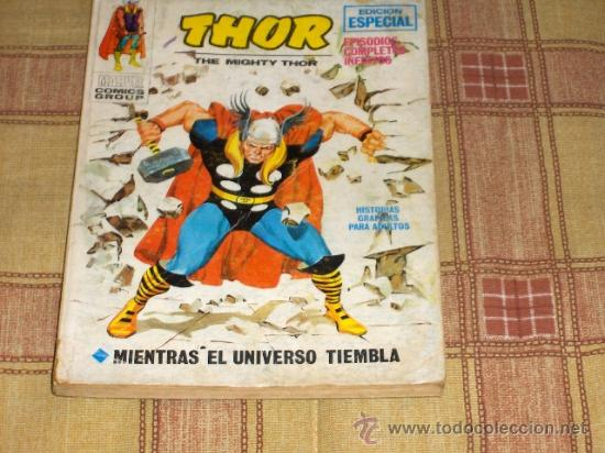 VÉRTICE VOL. 1 THOR Nº 18.1972. 25 PTS. (Tebeos y Comics - Vértice - Thor)