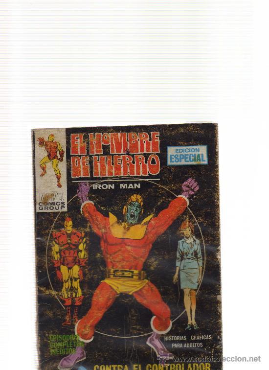 EL HOMBRE DE HIERRO IRON MAN; 5 CONTRA EL CONTROLADOR - CJ24 (Tebeos y Comics - Vértice - Hombre de Hierro)
