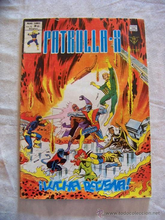 LA PATRULLA X Nº 29 VERTICE (Tebeos y Comics - Vértice - Patrulla X)