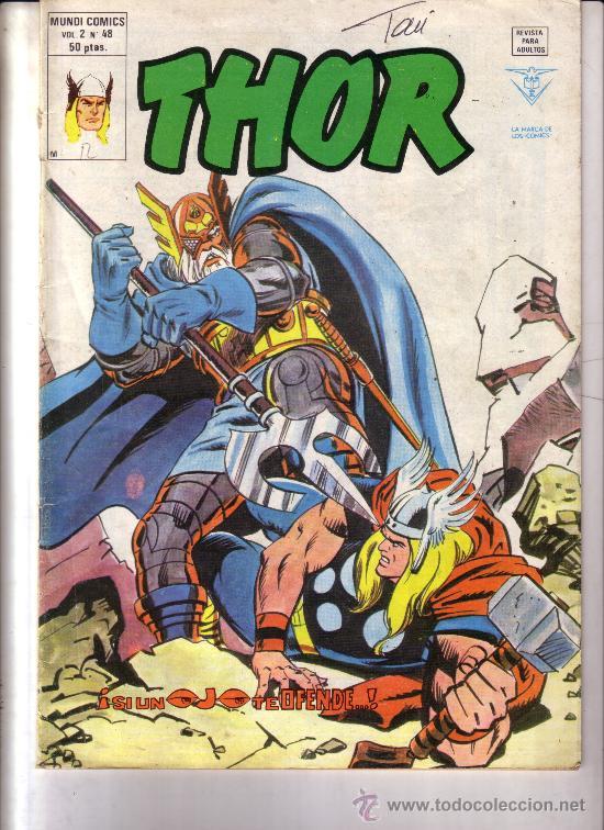 THOR VERTICE V2 Nº 48 (Tebeos y Comics - Vértice - Thor)
