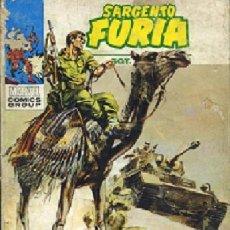 Cómics: SARGENTO FURIA, , VÉRTICE V1,Nº 6 1972, . Lote 17337005