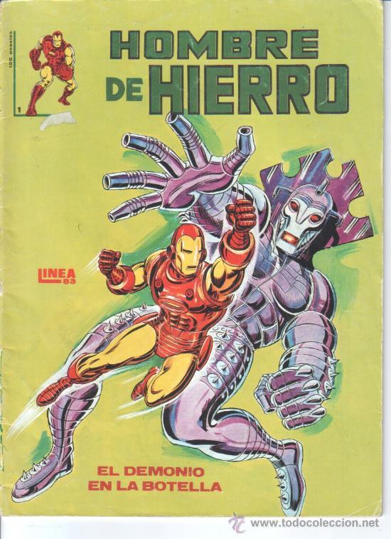HOMBRE DE HIERRO. MUNDI COMICS. Nº 1 (Tebeos y Comics - Vértice - Hombre de Hierro)