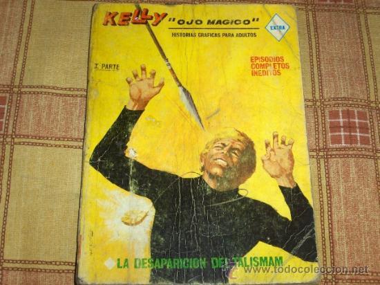 VÉRTICE VOL. 1 KELLY OJO MÁGICO Nº 12. 25 PTS. 1969. MUY DIFÍCIL!!!! (Tebeos y Comics - Vértice - Otros)