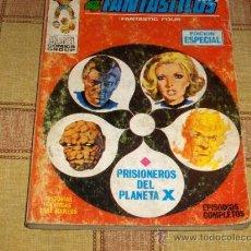 Comics : VÉRTICE VOL. 1 LOS 4 FANTÁSTICOS Nº 4. 25 PTS. 1969. DIFÍCIL!!!!!!!!!!. Lote 17841004