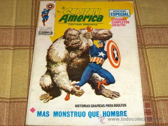 VÉRTICE VOL. 1 CAPITÁN AMÉRICA Nº 17. 25 PTS. 1972. (Tebeos y Comics - Vértice - Capitán América)