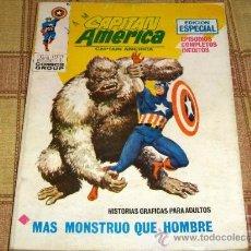 Cómics: VÉRTICE VOL. 1 CAPITÁN AMÉRICA Nº 17. 25 PTS. 1972.. Lote 17844142
