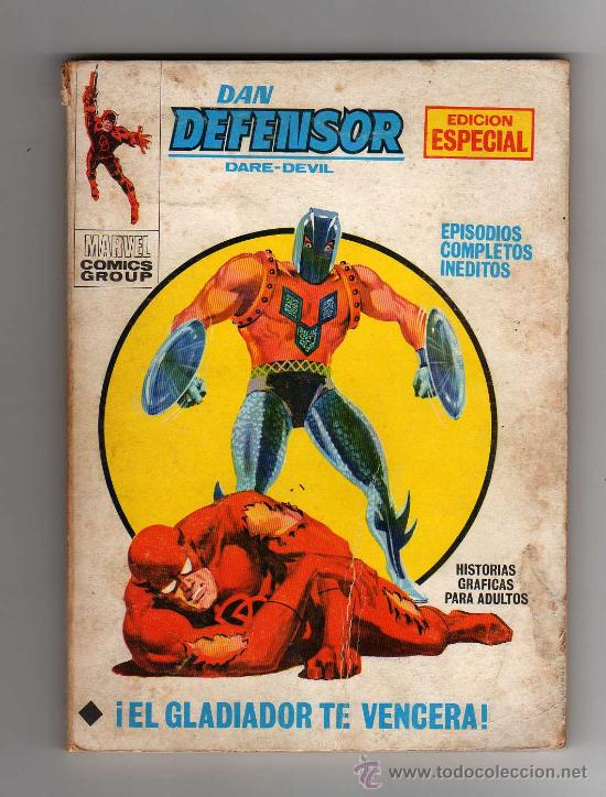 DAN DEFENSOR - DARE-DEVIL, MARVEL COMICS GROUP, NUM. 26 , 1971 (Tebeos y Comics - Vértice - Dan Defensor)