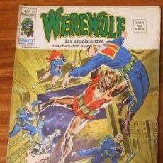 Cómics: WEREWOLF V.2 Nº 18 CERCA DE LA LUNA VERTICE 1974 . Lote 26010622
