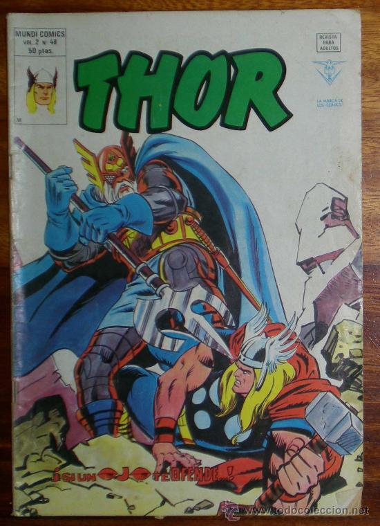 THOR. SI UN OJO TE OFENDE. VOL 2 Nº 48. EDICIONES VERTICE 1979 (Tebeos y Comics - Vértice - Thor)