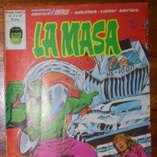 Cómics: LA MASA. TOQUE A MUERTE. VOL 3 . NUM 42. EDICDIONES VERTICE. 1980 COLOR. Lote 26141470