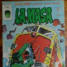 Cómics: LA MASA. FURIA A 50.0000 VOLTIOS. VOL 3. Nº 41. EDICONES VERTICE 1978 COLOR. Lote 26010639