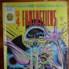 Cómics: LOS 4 FANTASTICOS. KLAW EL ASESINO SEÑOR DEL SONIDO. VOL 3 Nº 31. EDICIONES VERTICE. 1980 COLOR. Lote 25983182