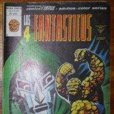 Cómics: LOS 4 FANTASTICOS. DIA DE PERDICIÓN. VOL 3 Nº 33. EDICIONES VERTICE. 1980 COLOR. Lote 18073905