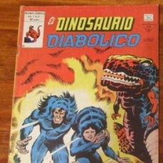 Cómics: EL DINOSAURIO DIABOLICO. VOL.1 Nº 3 50 PTAS. VERTICE 1980 . Lote 27169869