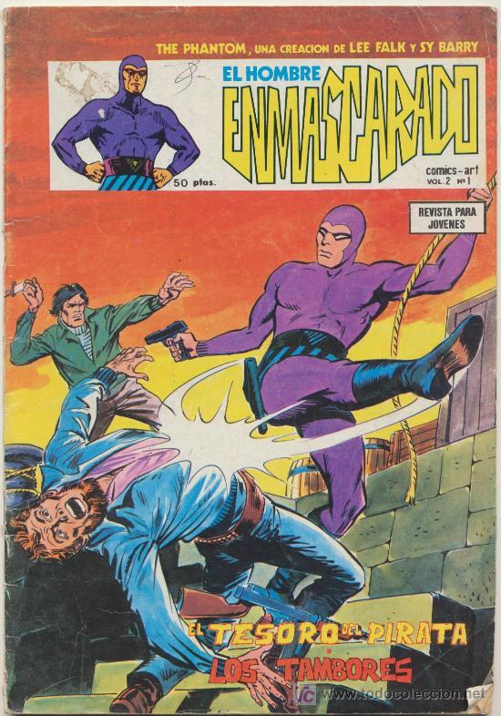 EL HOMBRE ENMASCARADO VOL. 2 Nº 1. (Tebeos y Comics - Vértice - Hombre Enmascarado)
