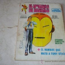 Cómics: EL HOMBRE DE HIERRO Nº 12 - EL HOMBRE QUE MATO A TONY STARK. Lote 18264937