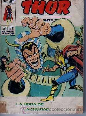 COMIC VERTICE THOR Nº 41 VOL.1 (Tebeos y Comics - Vértice - Thor)