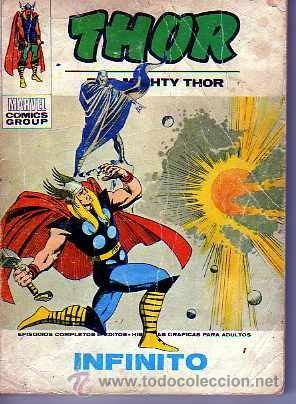 COMIC VERTICE THOR Nº 38 VOL.1 (Tebeos y Comics - Vértice - Thor)