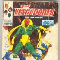 Comics : (COM-1944)COMIC VERTICE LOS VENGADORES Nº25 - 25 PTS.. Lote 18388418