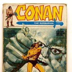 Cómics: CONAN THE BARBARIAN Nº 2 - EDICIONES VERTICE - AÑO 1972 -CREPUSCULO DEL DIOS SINIESTRO. Lote 24544665