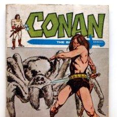 Cómics: CONAN THE BARBARIAN Nº 7 - EDICIONES VERTICE - AÑO 1972 - LA TELA DEL DIOS ARAÑA. Lote 24544671