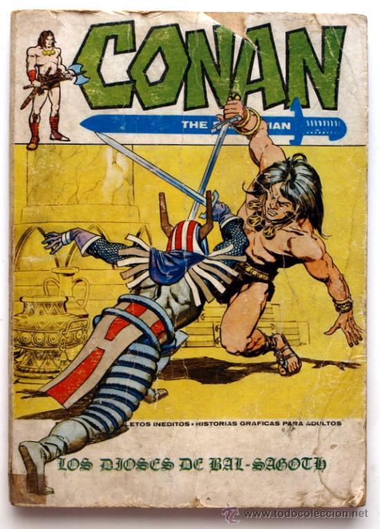 CONAN THE BARBARIAN Nº 9 - EDICIONES VERTICE - AÑO 1972 - LOS DIOSES DE BAL-SAGOTH (Tebeos y Comics - Vértice - Conan)