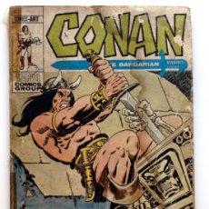 Cómics: CONAN THE BARBARIAN Nº 16 - EDICIONES VERTICE - AÑO 1972 - LA SOMBRA DE LA TUMBA. Lote 24544686