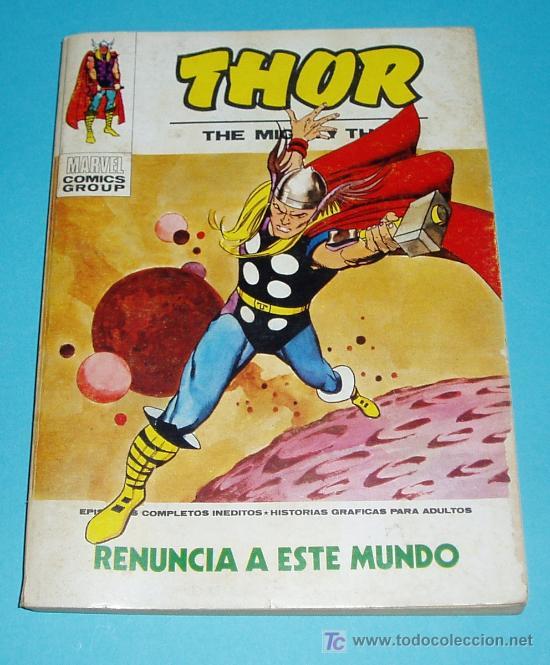 RENUNCIA A ESTE MUNDO. THOR Nº 29. MARVEL COMICS GROUP. EDIT. VERTICE. 1973 (Tebeos y Comics - Vértice - Thor)