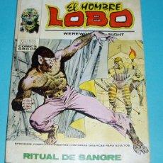 Cómics: RITUAL DE SANGRE. EL HOMBRE LOBO Nº 5. MARVEL COMICS GROUP. EDIT. VERTICE. 1973. Lote 25938362