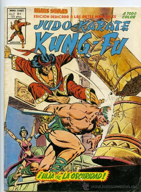 RELATOS SALVAJES KUNG FU VOL 2 Nº 4 (Tebeos y Comics - Vértice - Relatos Salvajes)