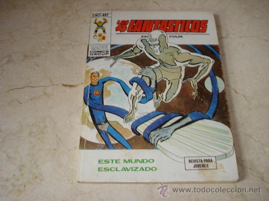 LOS 4 FANTASTICOS Nº 61 - ESTE MUNDO ESCLAVIZADO (Tebeos y Comics - Vértice - 4 Fantásticos)