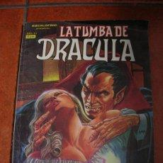Cómics: LA TUMBA DE DRACULA Nº 4 ; EDIC. VERTICE. Lote 18945573