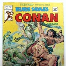 Relatos salvajes Conan el Barbaro vol.1 nº 78 -Comics Vertice - Especial serie -