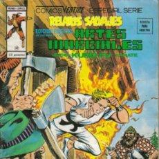 Cómics: RELATOS SALVAJES ARTES MARCIALES (VERTICE) ORIGINAL 1976 Nº.40 Y 46. Lote 27120034