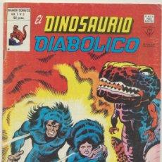 Cómics: EL DINOSAURIO DIABÓLICO VOL. 1 Nº 3.. Lote 19119192