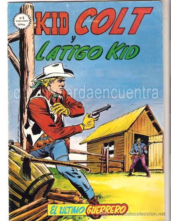 MUNDI COMICS. KID COLT Y LÁTIGO KID. Nº 6 1981. EDICIONES VÉRTICE. (Tebeos y Comics - Vértice - Otros)