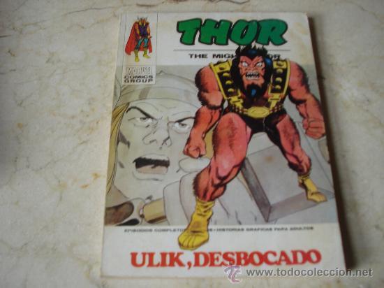 THOR Nº 32 - ULIK, DESBOCADO (Tebeos y Comics - Vértice - Thor)