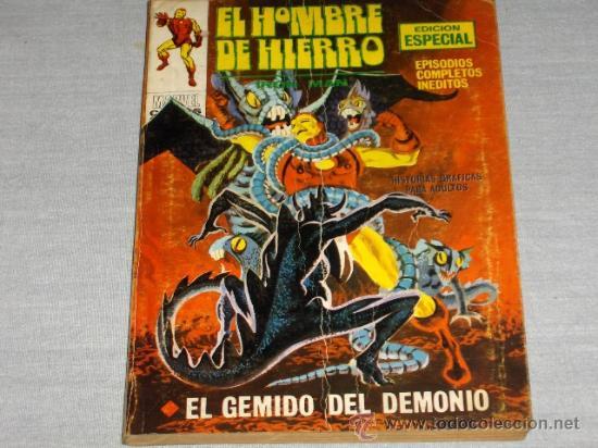 VÉRTICE VOL. 1 HOMBRE DE HIERRO Nº 20. 1972. 25 PTAS. DIFÍCIL!!!!!!!! (Tebeos y Comics - Vértice - Hombre de Hierro)