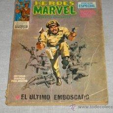 Cómics: VÉRTICE VOL. 1 HÉROES MARVEL Nº 3 CON EL CAPITÁN SAVAGE. 1972. 25 PTS. . Lote 19369798