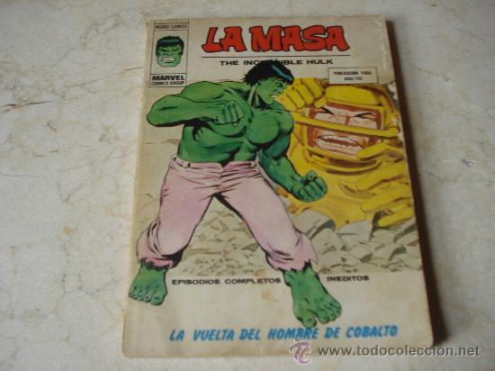 LA MASA Nº 35 - LA VUELTA DEL HOMBRE DE COBALTO (Tebeos y Comics - Vértice - La Masa)