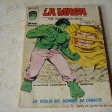 Cómics: LA MASA Nº 35 - LA VUELTA DEL HOMBRE DE COBALTO. Lote 19375244