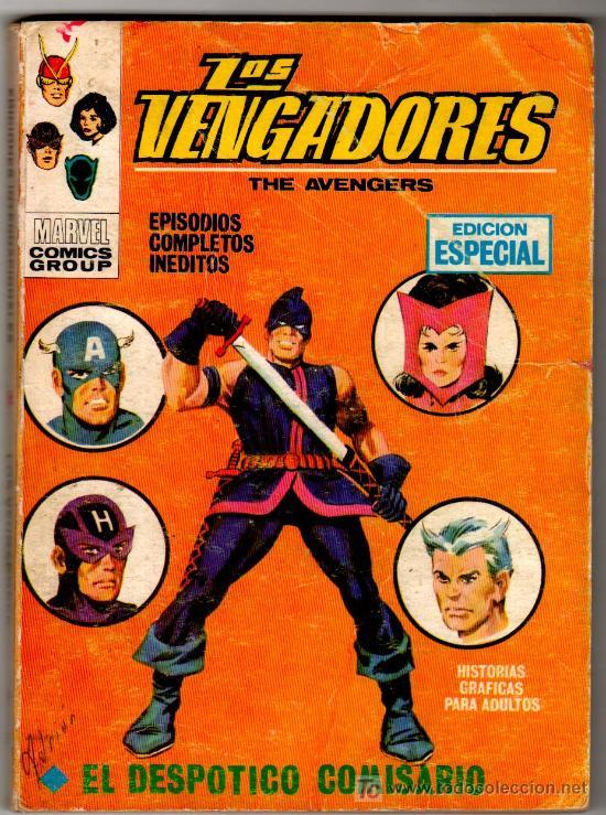 LOS VENGADORS VERTICE 1970.SE VENDEN SUELTOS , NºS - 8,11,15 ,17, 22,41,47,51 VER FOTOS - JV - (Tebeos y Comics - Vértice - Super Héroes)