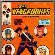 Cómics: LOS VENGADORS VERTICE 1970.SE VENDEN SUELTOS , NºS - 8,11,15 ,17, 22,41,47,51 VER FOTOS - JV -. Lote 23859161
