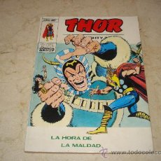 Cómics: THOR Nº 41 - LA HORA DE LA MALDAD. Lote 19515052