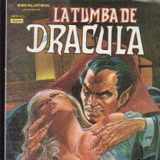 Cómics: LA TUMBA DE DRACULA Nº 4 ( VERTICE ). Lote 20678712