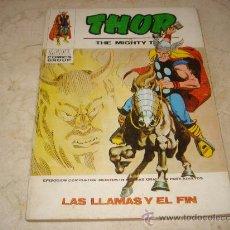 Cómics: THOR Nº 34 - LAS LLAMAS Y EL FIN. Lote 19607608