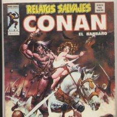 Cómics: RELATOS SALVAJES. CONAN EL BÁRBARO. VOL.1. LOTE DE 19 EJEMPLARES. Lote 19613054